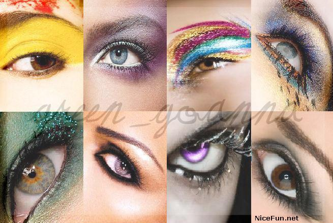 Brown eyes come in many different shades so dark eye makeup styles.